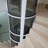 Un ascenseur cylindrique