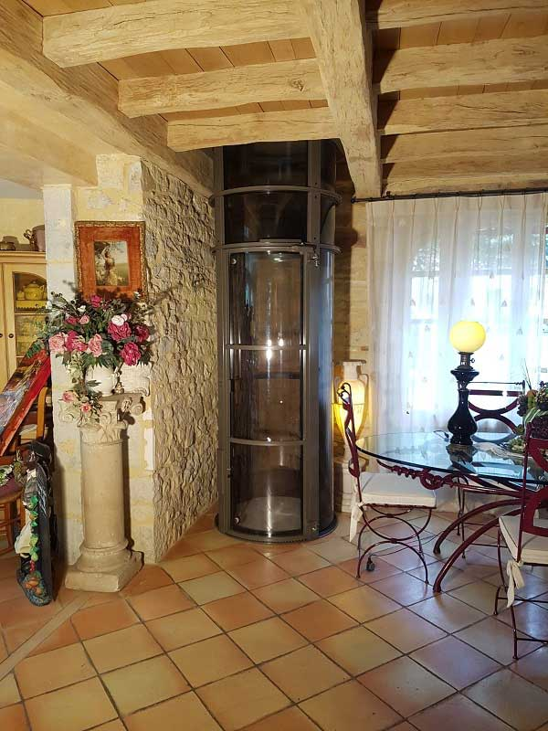 Un ascenseur privatif installé en Dordogne