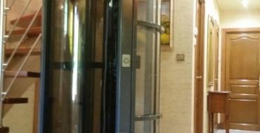 Ascenseur cylindrique PVE 37 - Haute Normandie